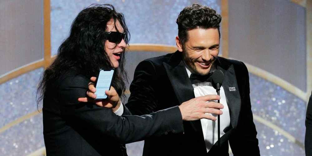 Tommy-Wiseau-and-James-Franco-at-the-Golden-Globes-NBC-image-1